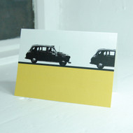 London Taxi Greeting Card