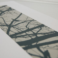 Grey Blackbirds Screen Print