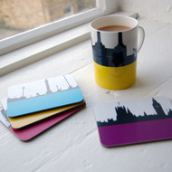 Jacky Al-Samarraie London Landscape Coasters - Pack Two