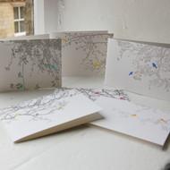 Jacky Al-Samarraie Letterpress Greeting Cards - Pack Two