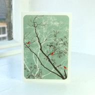 Oriental Sage Greeting Card