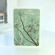 Jacky Al-Samarraie Oriental Sage Greeting Card