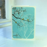 Oriental Turquoise Greeting Card