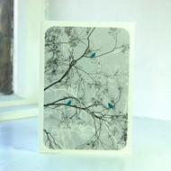 Jacky Al-Samarraie Oriental Grey Greeting Card
