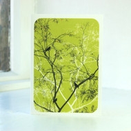 Oriental Lime Greeting Card
