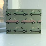 Jacky Al-Samarraie Nissan Figaro Greeting Card