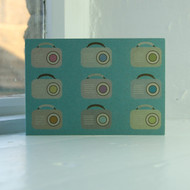 Transistor Radios Greeting Card