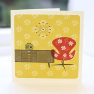 Jacky Al-Samarraie Flower Power Greeting Card