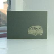 Bus Greeting Card