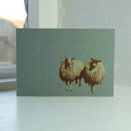 Jacky Al-Samarraie Sheep Greeting Card