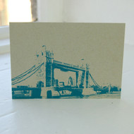 Jacky Al-Samarraie Tower Bridge Postcard