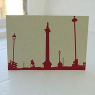 Jacky Al-Samarraie Trafalgar Square Postcard