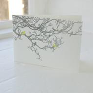 Birdsong Letterpress Greeting Card LP-LS-12-GC