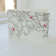 Birdsong Letterpress Greeting Card LP-LS-11-GC