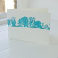 Jacky Al-Samarraie Burnsall LandscapeLetterpress Greeting Card