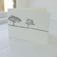 Jacky Al-Samarraie Harrogate Landscape Letterpress Greeting Card