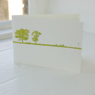 Land & Sea Letterpress Greeting Card LP-LS-02-GC