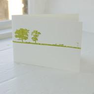Jacky Al-Samarraie Ilkley Letterpress Greeting Card