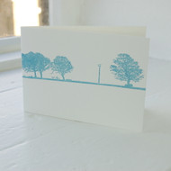 Land & Sea Letterpress Greeting Card