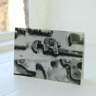 Jacky Al-Samarraie Mixed Tools Saw Greeting Card