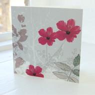 Jacky Al-Samarraie Hibiscus Greeting Card