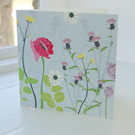 Jacky Al-Samarraie Poppy Greeting Card