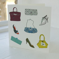 Handbag & Shoe Greeting Card