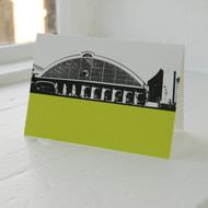 Lime Street Station Greeting Card