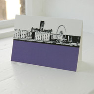 Jacky Al-Samarraie Albert Dock Greeting Card
