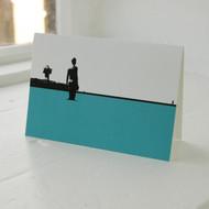 Crosby Beach Greeting Card