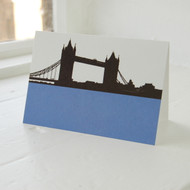 Jacky Al-Samarraie Tower Bridge Greeting Card