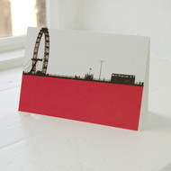 Jacky Al-Samarraie London Eye Greeting Card