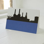 Battersea Power Station Greeting Card LA-52-GC