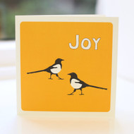 Magpie Joy Greeting Card