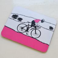Jacky Al-Samarraie Female Cyclist Coaster