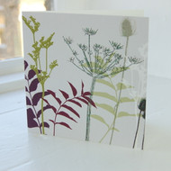 Jacky Al-Samarraie Cow Parsley Greeting Card