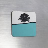 Fridge Magnet - Turquoise