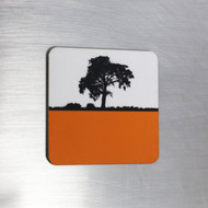 Jacky Al-Samarraie Fridge Magnet - Orange