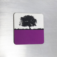 Fridge Magnet - Purple
