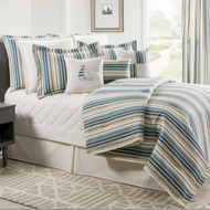 SAVANNAH STRIPE COMFORTER