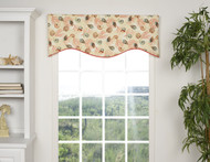 CAICOS SHAPED VALANCE