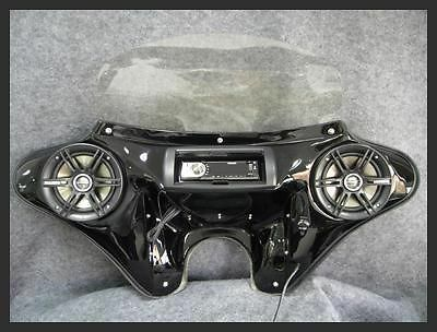 Batwing Fairing 6 5 Quot Speakers Stereo Small Headlight