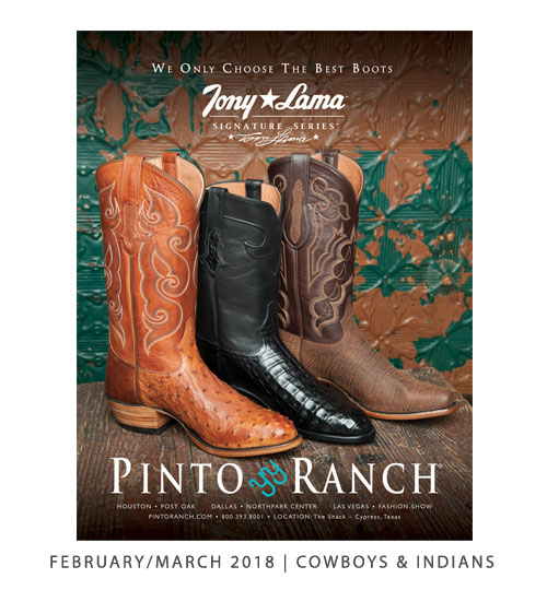 Cowboys & Indians February/March 2018