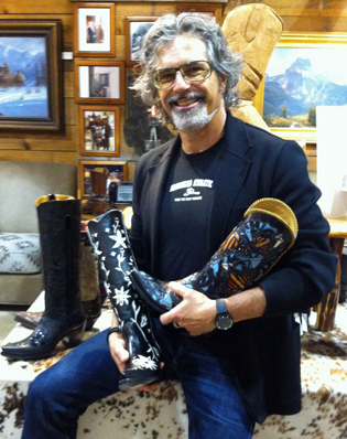 Tony Benattar of Libery Boot Co.