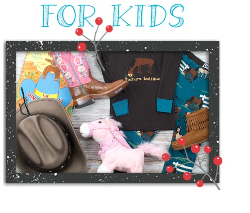 Western Holiday Gift Guide for Kids