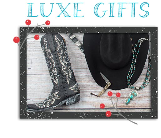 Western Holiday Luxe Gift Guide