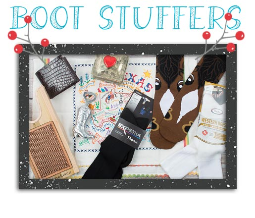 Western Holiday Gift Guide Boot Stuffers