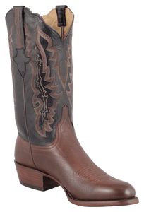 Lucchese Men's Whiskey Baby Buffalo Boots - Hero