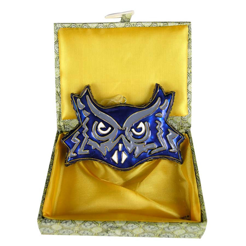 Ornament - Rice University Owl - Front