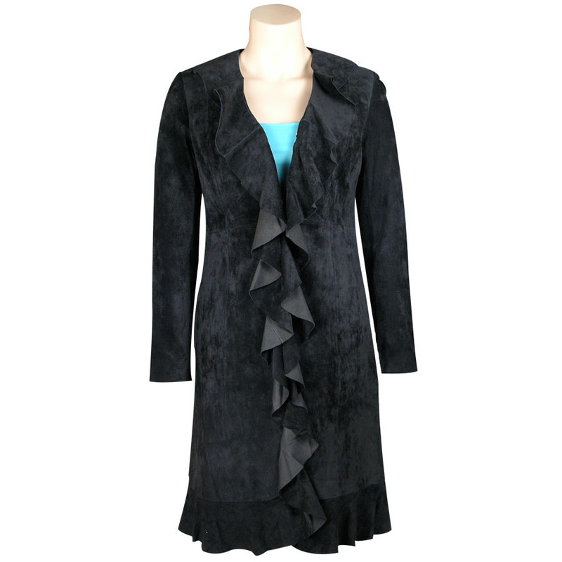Scully Suede Ruffle Jacket Pinto Ranch